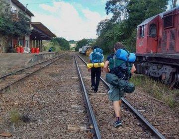 Caminhada para Ferrovia Do Trigo - Guaporé - Muçum (RS)