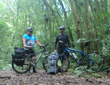 Trilha de MTB e Acamps Selvagem em Maquiné - RS