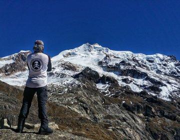 Escalada dos Nevados Charkini e Huayna Potosí - Bolívia