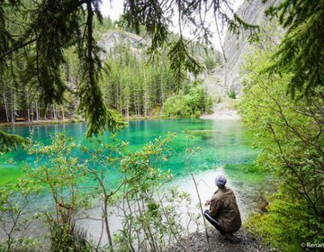 Grassi Lakes Trail | Rock Mountains - Canada