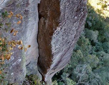 Abertura da via Face Sul da Pedra Comprida