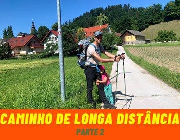 Caminhada de longa distância nas montanhas  Parte 2