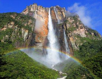 A Rainha das cachoeiras no meio da Venezuela