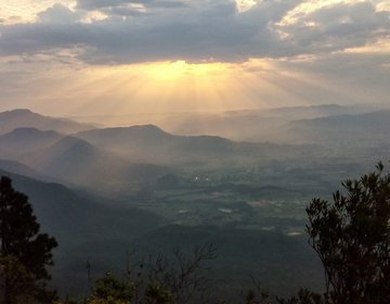 Morro do Cambirela - Acampamento no cume