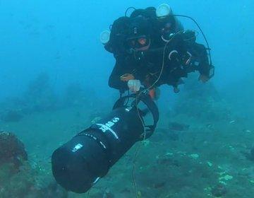 Brincando de submarino