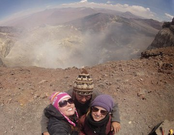 Subida ao Vulcão Lascar
