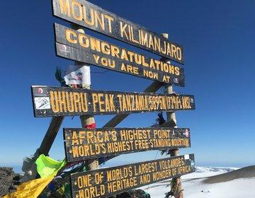 Kilimanjaro via rota Rongai - Hakuna Matata!