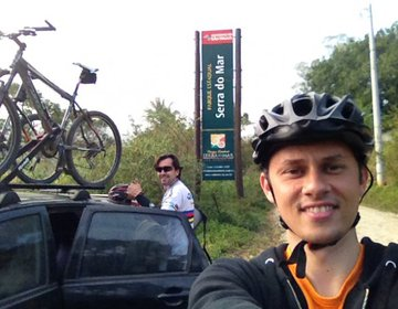 Pedal no Morro das Antenas em São Sebastião