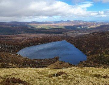 Lough Ouler – Ireland's Heart-Shaped Lake