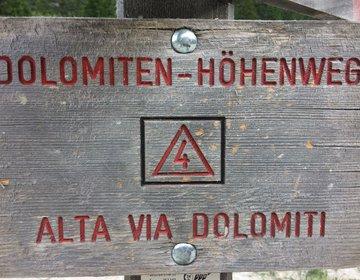 Alta Via (Höhenweg) 4 - Dolomitas