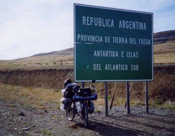 Próximo de Ushuaia