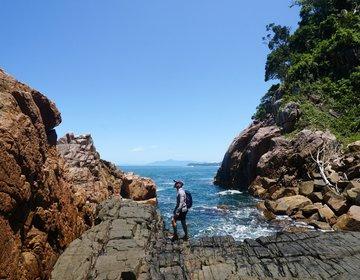 Trilha Praia das Sete Fontes e Gruta do Pirata - Ubatuba