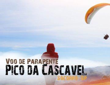 Voo de Parapente no Pico da Cascavel