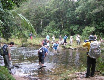 Travessia Mogi Bertioga pelo Rio Itapanhau