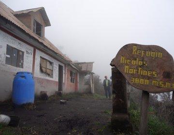 Equador Trilha  Vulcão Tungurahua   Pós Erupção