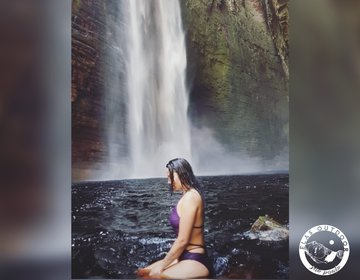 Cachoeira da Fumacinha • 210m •Ibicoara • Chapada Diamantina