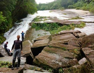 Cachoeira da Lage Grande - Travessia Rio Itaguaré-Guaçú