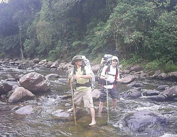 Travessia do Rio Branquinho