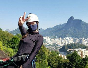 Escalada no Morro São João