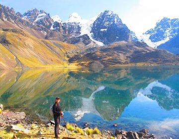 Travessia Kotia - Huayna Potosi, na Cordilheira dos Andes