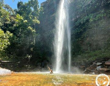 Cachoeira do Urubu Rei• Serras Gerais • TO