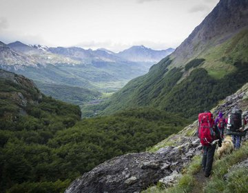 Ushuaia - Paso de las Ovejas 2 - Cañadon de las Ovejas