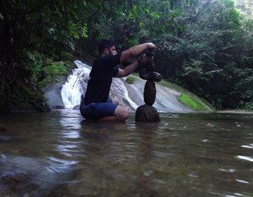 Pedal e Trekking Cachoeira no Pé da Serra do Caetê