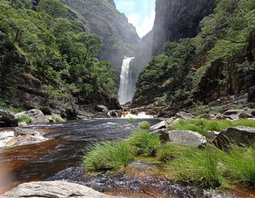 Cachoeira Do Rio De Pedras