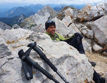 Trilhando Montanhas na Eslovênia, Montanha Stol nos Alpes Ju