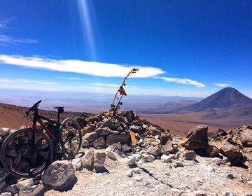 Cerro Toco - 5.600 m de altitude de Bike