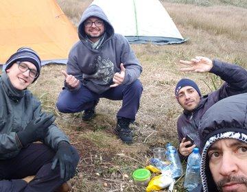 Acampando no Pico do Tabuleiro