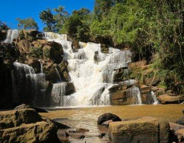 Cachoeiras do Castelo e Arco-Íris - Piraju/SP
