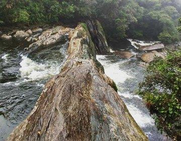 Cachoeira da pedra furada