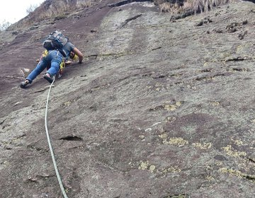 Escalada Na Pedra Ana Chata Em São Bento Do Sapucaí