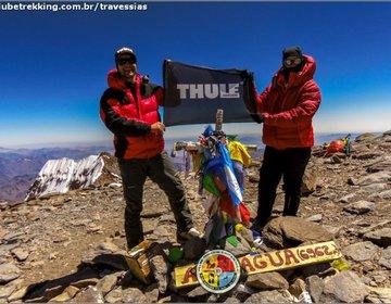 Rota 360º no Aconcágua (6962 metros), Argentina.