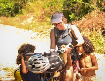 Pedalando na reserva indígena Apinajé | TO