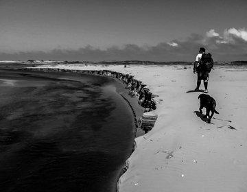 Trekking na praia do Cassino - Rio Grande - RS(finalizado)