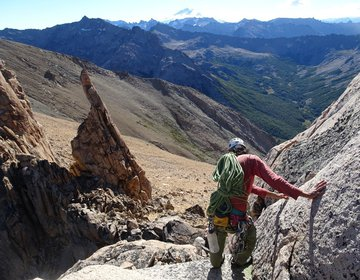 Escaladas no Cerro Catedral - Refúgio Frey