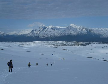 Instructing Glacier Mountaineering at Outward Bound, Alaska