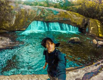Cachoeira Da Pedra Furada-Mogi Bertioga/Sp