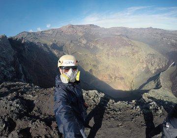 Hiking no Vulcão Villarica
