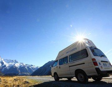 Viagem de CamperVan pela nova zelandia. 2020