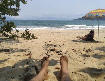 Praia Ponta Aguda / Caraguatatuba