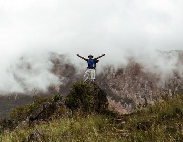 Monte Roraima, Venezuela, Guiana e Brasil, Janeiro de 2016