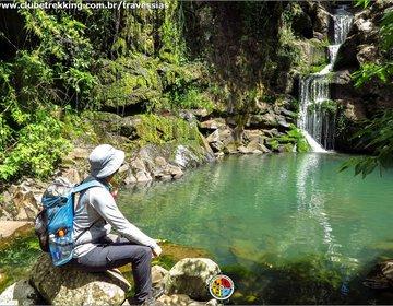 Travessia das 160 cachoeiras.