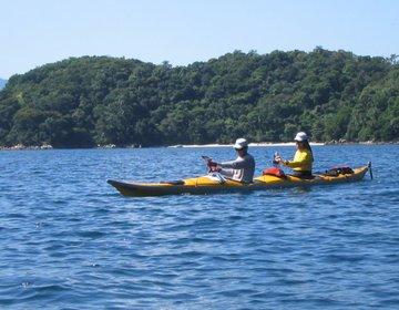 Circum-Navegação da Ilha Grande (RJ) em Caiaque Oceânico