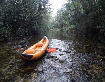 Remo no Rio Itatinga - Parque das Neblinas