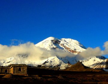 Equador - Rota dos vulcões - Chimborazo 6268 mts.