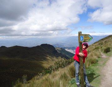 EQUADOR Trilha Vulcão Pechincha