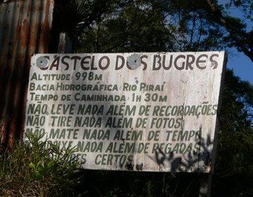 Castelo dos Bugres - Joinville - Serra Dona Francisca - SC